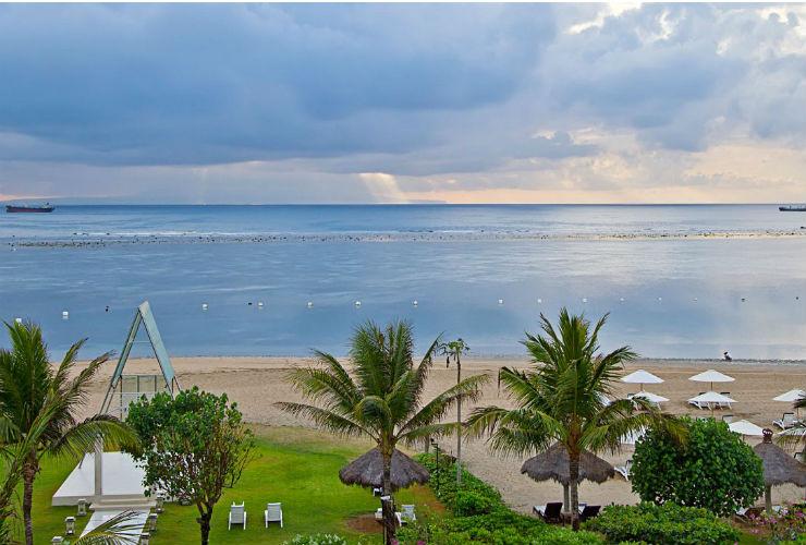 グランド ミラージュ リゾート & タラソ バリ プライベートビーチ