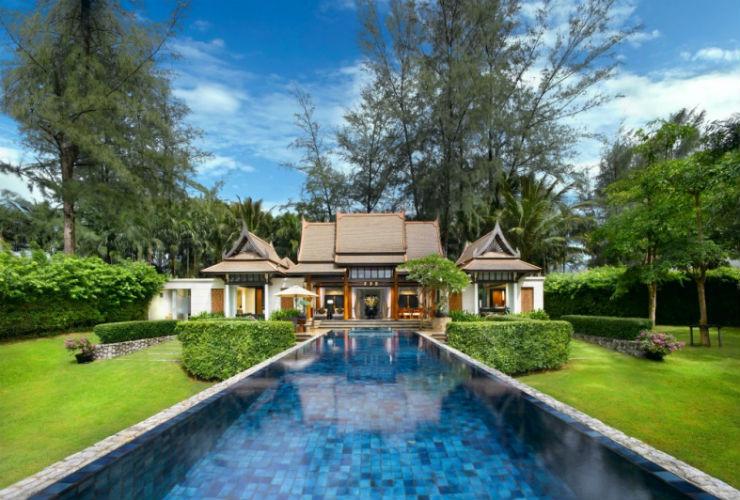 タイの伝統的な雰囲気が。