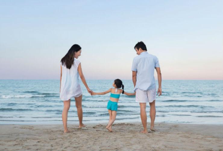 家族ですごしやすいリゾートです。