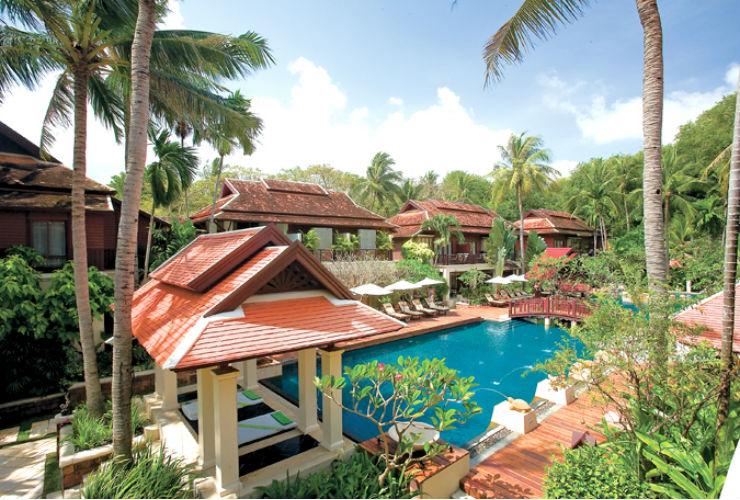 タイの伝統デザインを取り入れたリゾート。