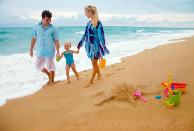家族旅行に安心のリゾート