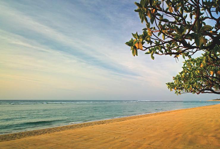 ヌサドゥアのビーチ