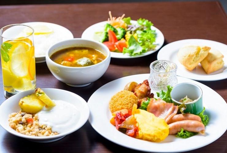 ベストウエスタン札幌大通公園 食事イメージ
