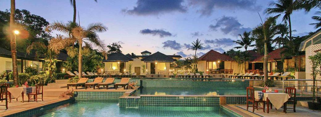 プールが人気のホテル。