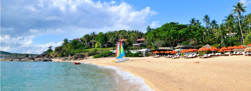 穏やかなプライベートビーチ