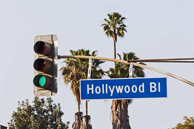 映画の街、ハリウッド