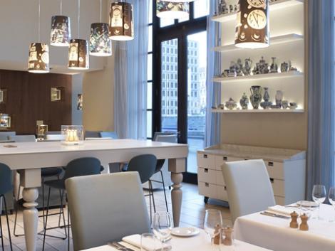 ブリュッセル:ヒルトン ブリュッセル シティ ホテル レストラン