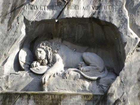 ◇◎ルツェルン:ライオン記念碑