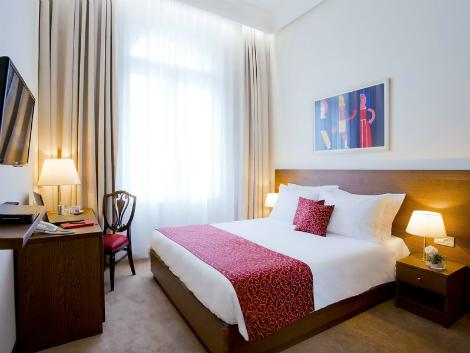 ザグレブ:パレス ホテル 客室一例