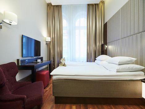 ヘルシンキ:GLO ホテル ヘルシンキ クルーヴィ 客室一例