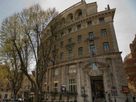 ローマ:グランド ホテル パレス 外観