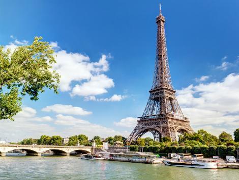 ◇パリ:セーヌ川とエッフェル塔