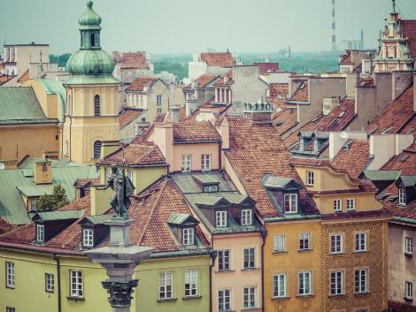 ◇ワルシャワ:旧市街