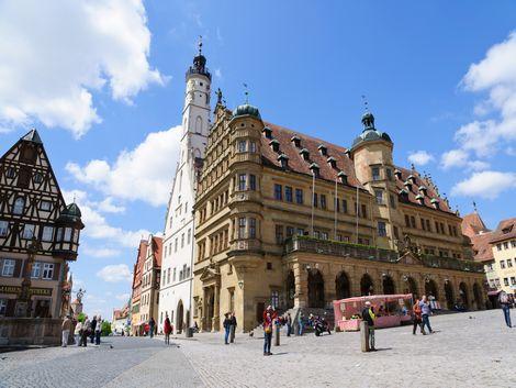 ◇◎ローテンブルク:市庁舎