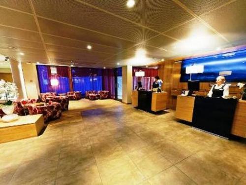 トロムソ:Radisson Blu Hotel Tromso  ロビー