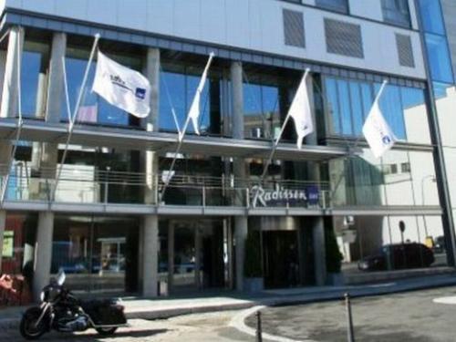 トロムソ:Radisson Blu Hotel Tromso 外観