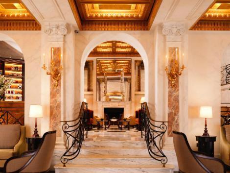 ローマ:ホテル エデン ロビー