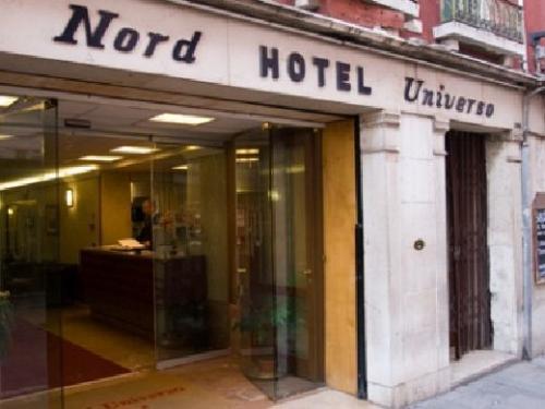ベネチア:ホテル ウニベルソ & ノルド 外観