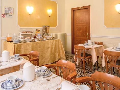 ローマ:ホテル サン モリッツ レストラン