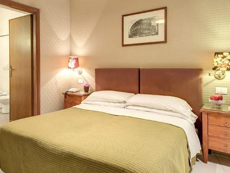 ローマ:ホテル サン モリッツ 客室一例