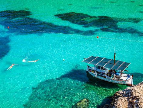 ◇イビサ島:美しい海