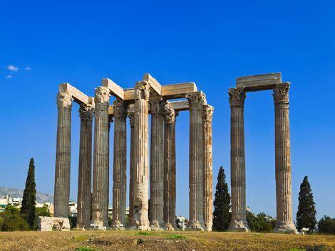 ◇◎アテネ:ゼウス神殿