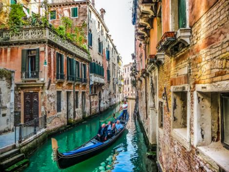 ◇ベネチア:運河とゴンドラ
