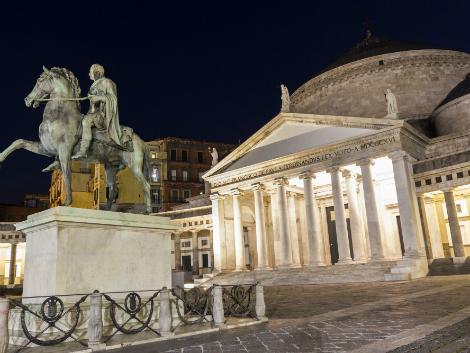◇ナポリ:サン・フランチェスコ・ディ・パオラ聖堂