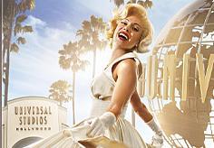 ユニバーサルハリウッドで会えるかも?!マリリン・モンロー