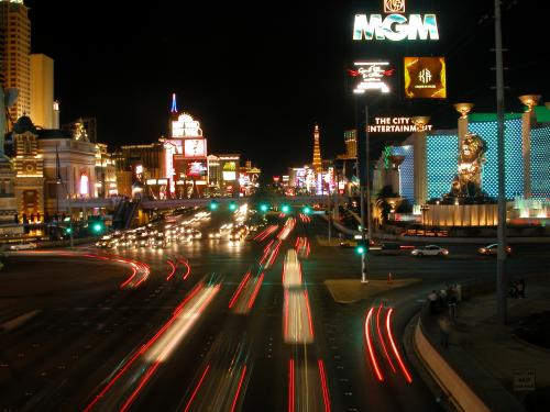 ラスベガスの夜景(イメージ)