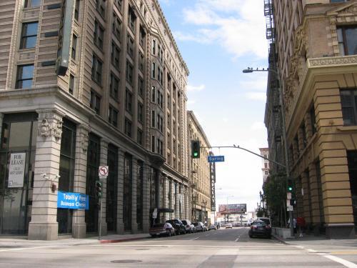ロサンゼルスの街並み(イメージ)
