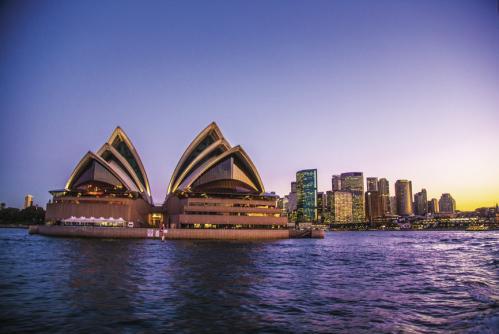 シドニーのオペラハウス ©Andrew Smith, Tourism Australia
