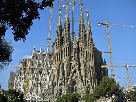 ◇バルセロナ:サグラダファミリア