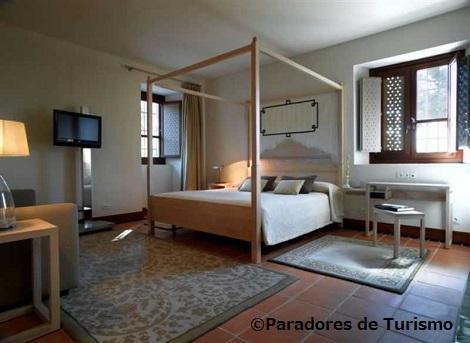 グラナダ:パラドール デ グラナダ 客室一例