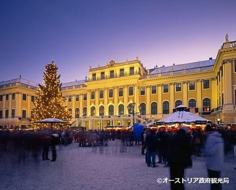 ◇ウィーン:冬のシェーンブルン宮殿