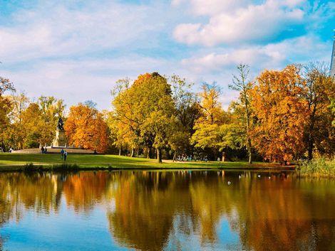 ◇◎アムステルダム:フォンデル公園