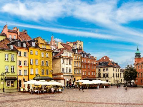 ◇◎ワルシャワ:旧市街