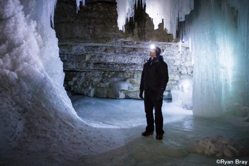 冬のジョンストン渓谷(イメージ)