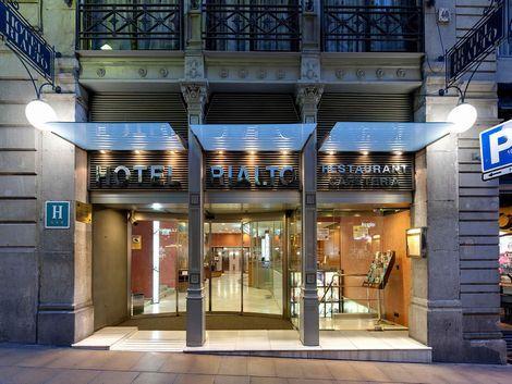 バルセロナ:リアルト 外観