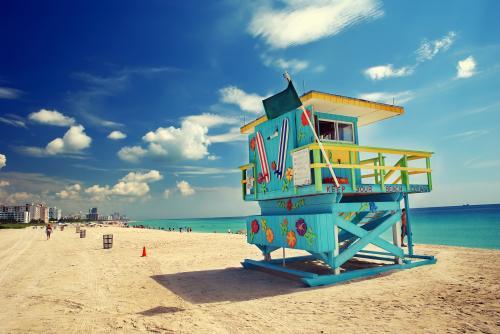 マイアミビーチの風景