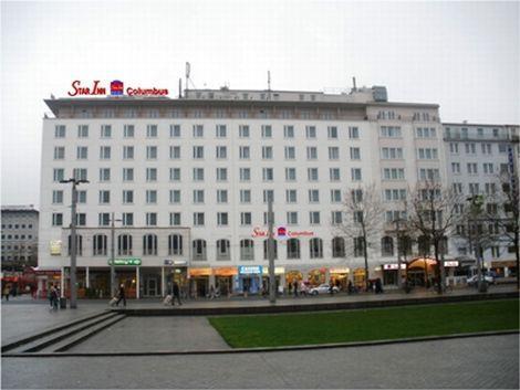 ブレーメン:Star Inn Hotel Bremen Columbus 外観