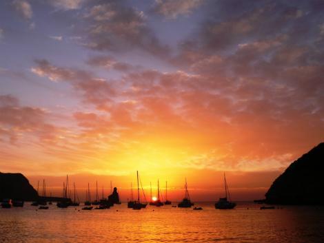 ◇◎イビサ島:夕景