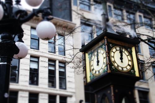 ギャスタウンの蒸気時計(バンクーバー)