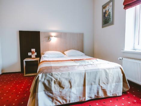 リガ:ハンザ ホテル 客室一例