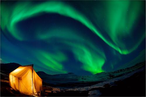 アラスカ オーロラ