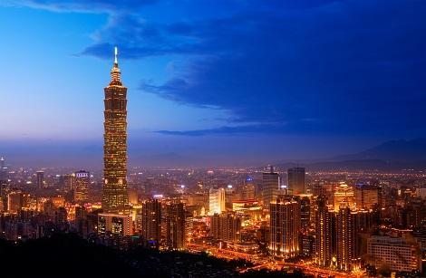 台北:101タワーと夜景