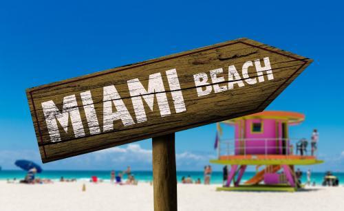 マイアミビーチへようこそ!