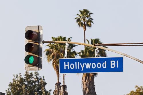 映画の街、ハリウッド(ロサンゼルス)