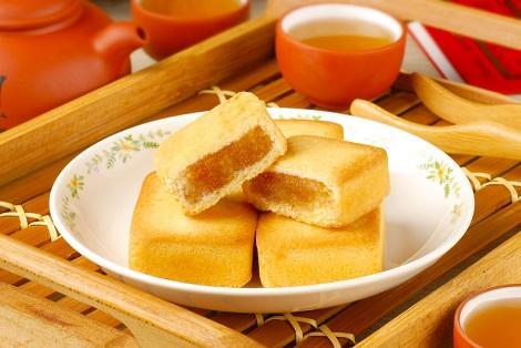 台湾:お土産の定番 パイナップルケーキ