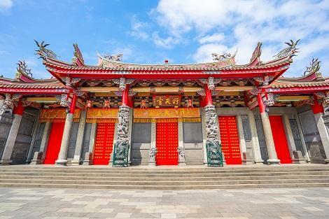 台北:商売の神様を祀る行天宮